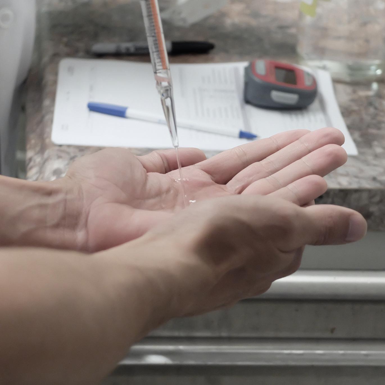 Antiseptic Wash Testing