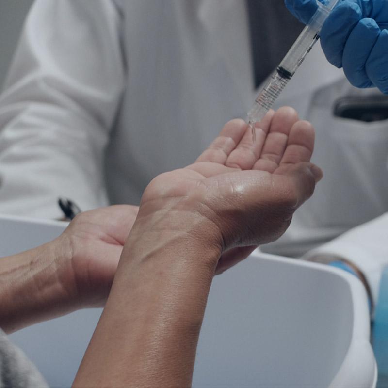Antiseptic Rub Testing